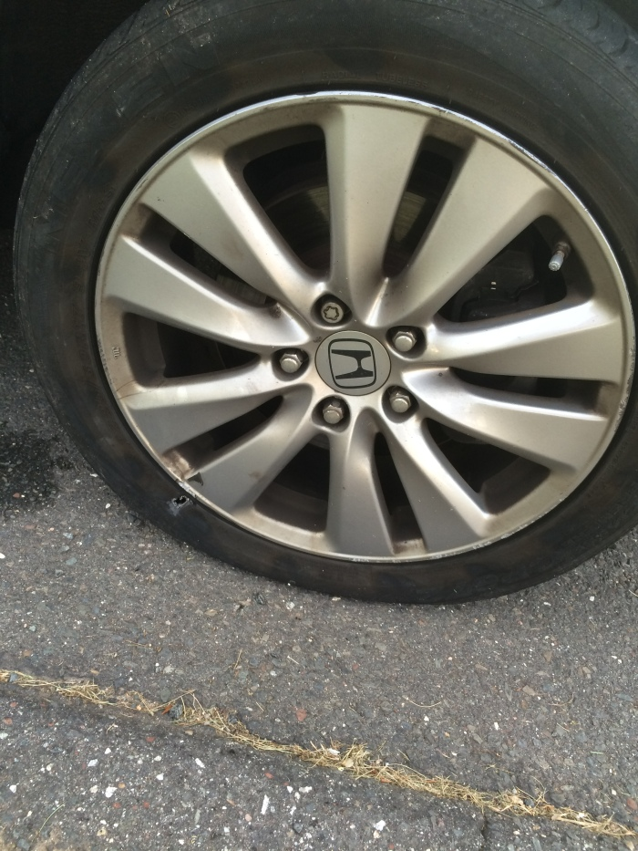 Flat tire? Forget it... I'm just buying a new car.